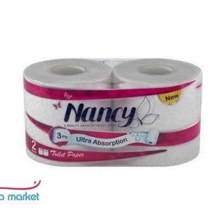دستمال توالت ۲عددی Nancy