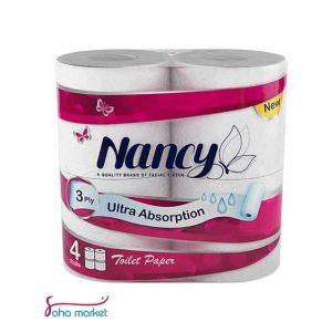 دستمال توالت ۴عددی Nancy