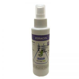 محلول ضدعفونی دست و پوست ZERACOL-120cc