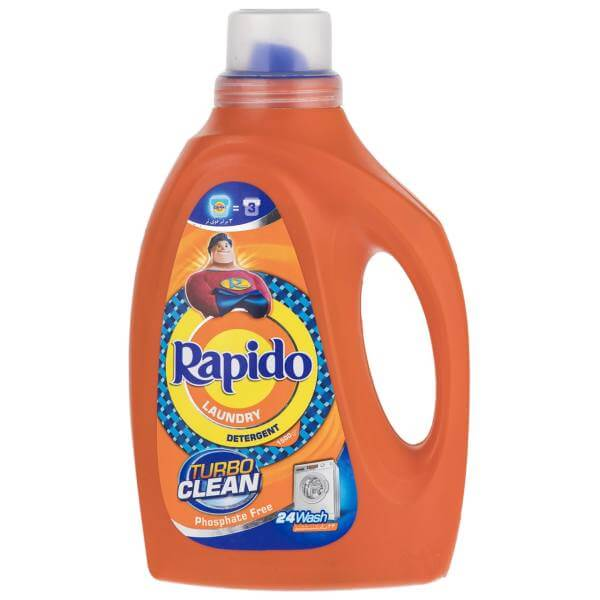 مایع لباسشویی Rapido-TurboClean رنگی