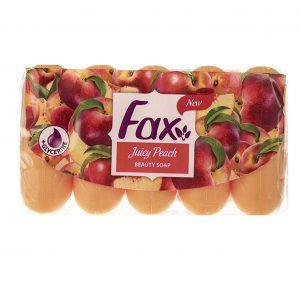 صابون فاکس مدل Juicy Peach با رایحه هلو بسته 5 عددی