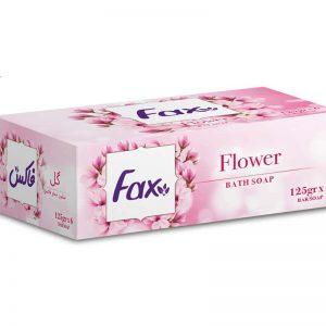 صابون حمام Fax مدل Flowerبسته 6عددی
