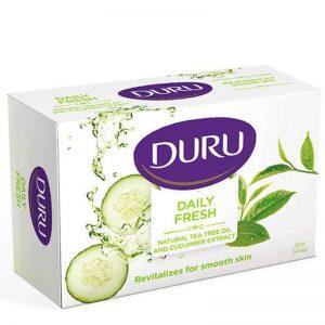 صابون آرایشی DURU خیار و روغن درخت چای
