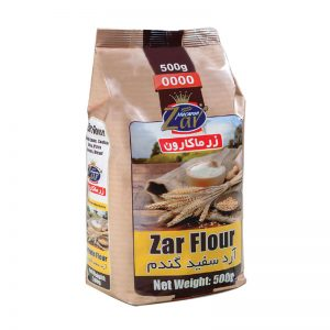 آرد سفید گندم زرماکارون(500 گرمی)
