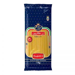 اسپاگتی قطر 1.5 زر ماکارون(1000 گرمی)