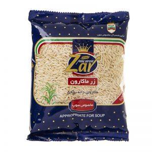 ماکارونی دانه برنجی زر ماکارون(500 گرمی)