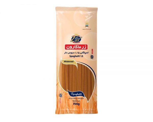 اسپاگتی-سبوس-دار1.5زرماکارون700