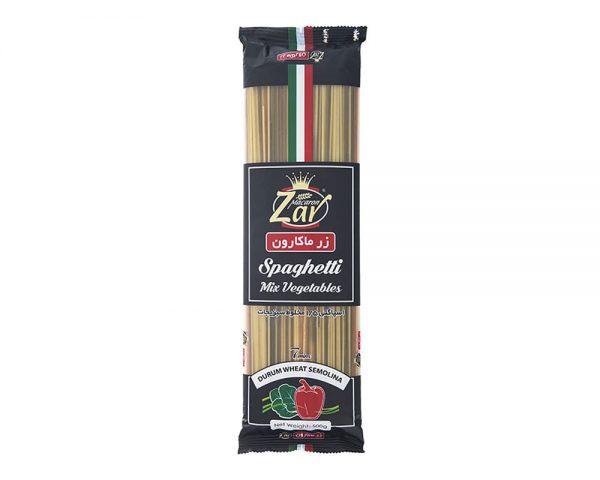 اسپاگتی1.5سبزیجات500گرمی_زرماکارون