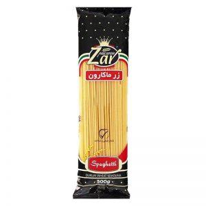 اسپاگتی قطر 2.5 زر ماکارون(500 گرمی)