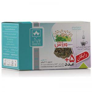 دمنوش ورزش چای دبش(بسته25عددی)