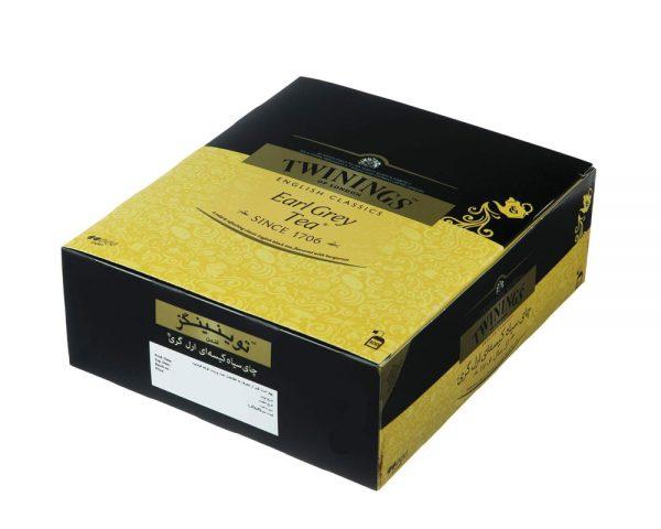 چای سیاه کیسه ای توینینگز مدل Earl Grey(100عددی)